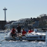 OAR Northwest Ceremonially Launches from Seattle's Lake Union, April 7