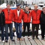 Crew with Randy and Wade of the Canadian Wildlife Federation, title sponsor of the OAR Northwest Salish Sea Expedition.
