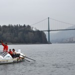 JRH underway and approaching Lions Gate Bridge.