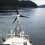 JRH and Inside Passage Shoreline and Wind Turbine