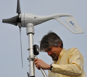 Dr. Fritz Stahr on Wind Turbine