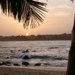 Sunrise over Dakar