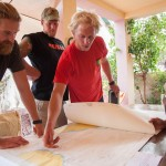 First-stage planning for the run from Dakar past Cape Verde Islands